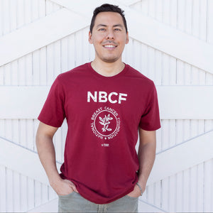 Men's NBCF Crew Neck T-Shirt - Cranberry