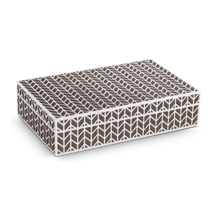 Chevron Rectangular Box