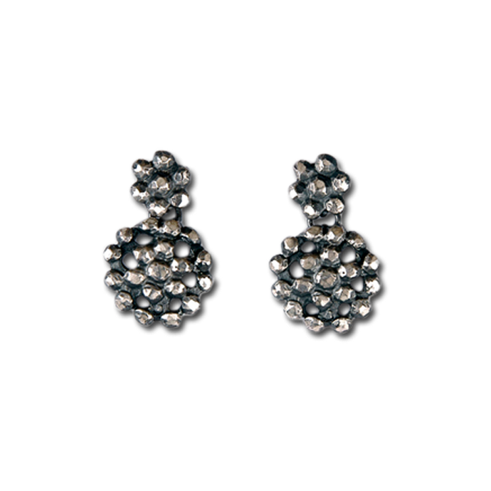 Buckle Small Double Drop Earrings