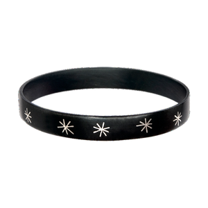 Raj Star Inlay Thin Bangle