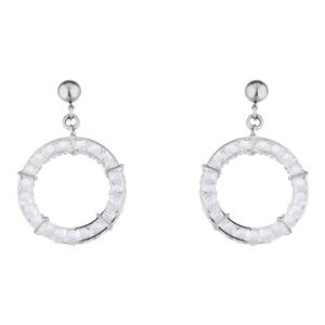 Platinum Record Earrings
