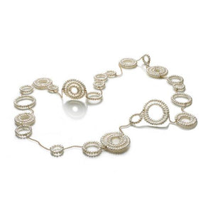 Constellations Necklace - White Pearl