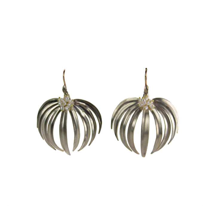 Palm Leaf Earrings