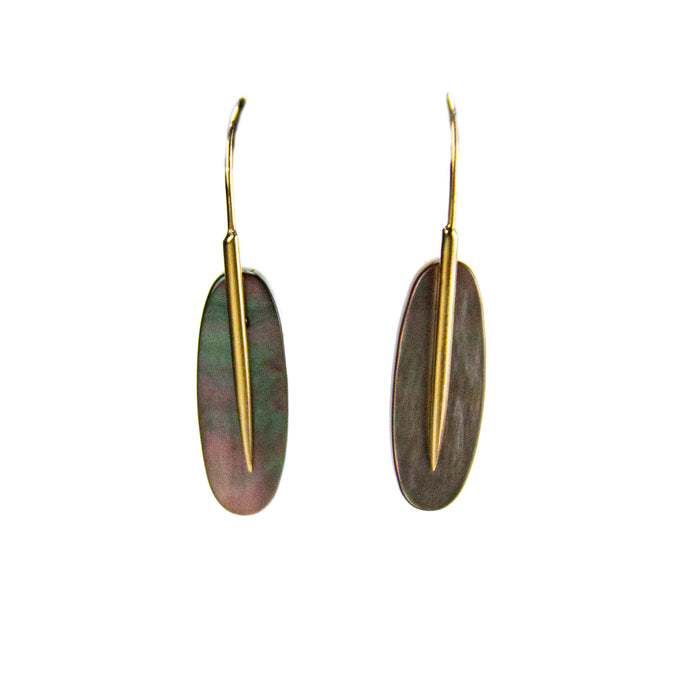 Large Feather Earrings