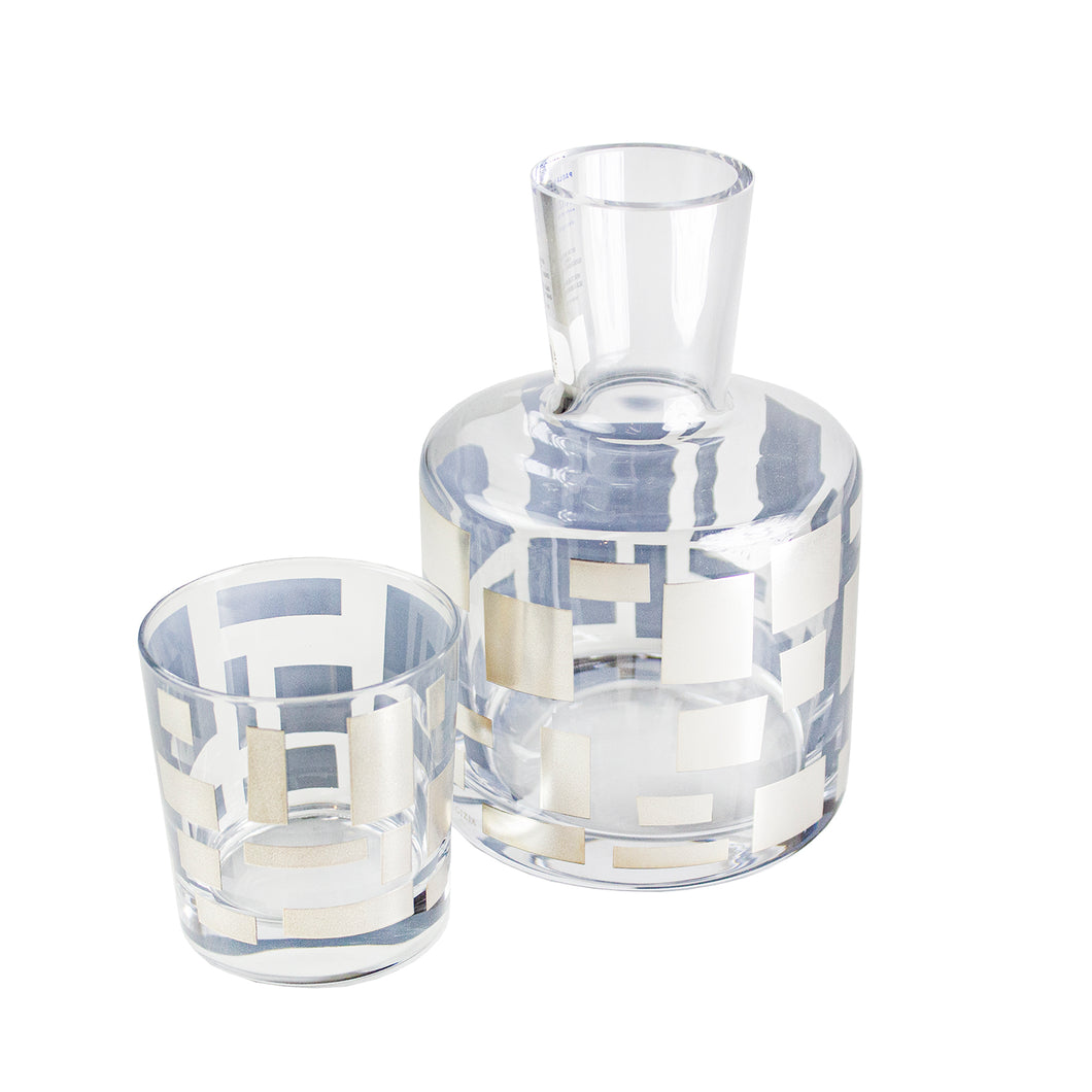 Quadrotto Bedside Water Carafe