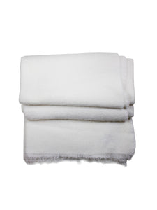 Cream Josi Cashmere Throw