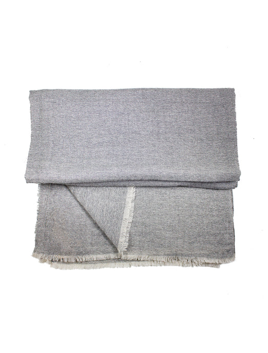 Grey Sutton Cashmere Throw