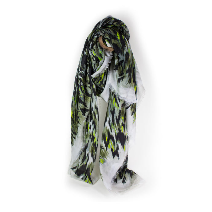 Animal Camouflage Print Scarf
