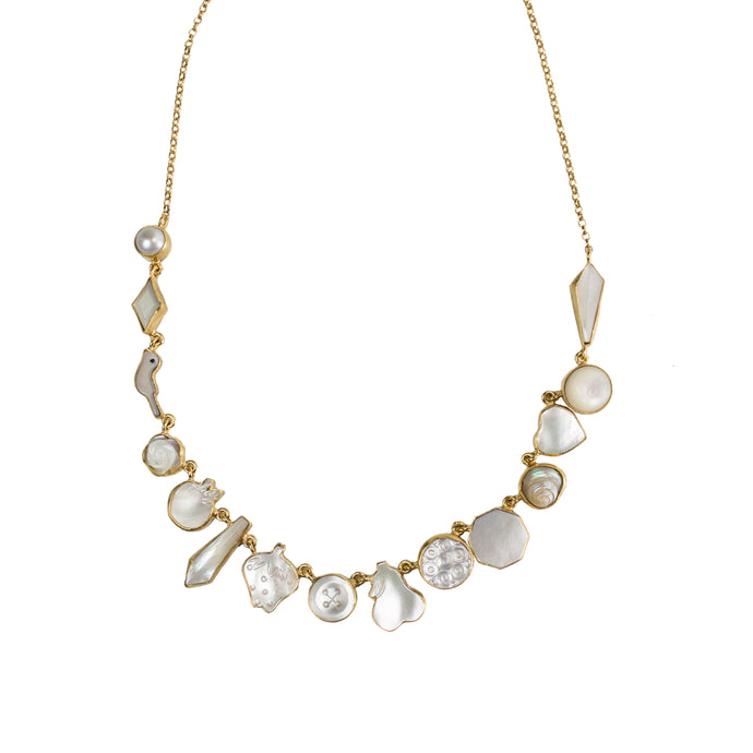 Pearl Charm Necklace