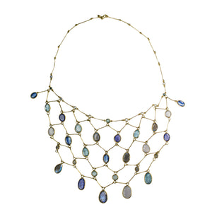 Mixed Clues Veil Necklace