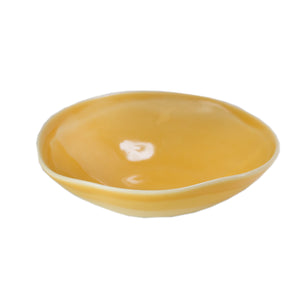 Yellow Gloss Ceramic Bowl