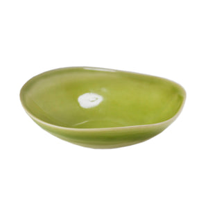 Lime Gloss Ceramic Bowl