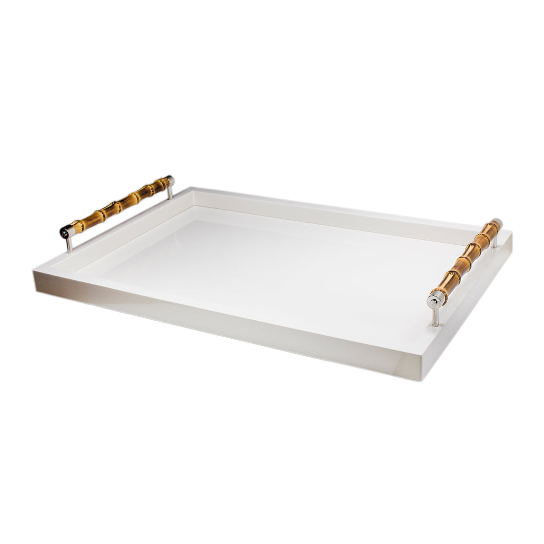 Lacquered Bamboo Tray Small