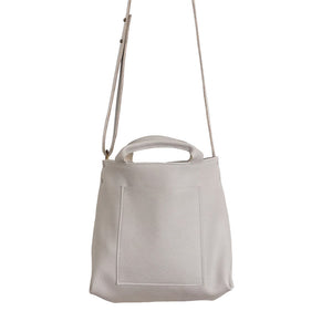 Toulouse Light Grey Mini Tote Handbag