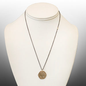 Ursa Sterling Disc Necklace