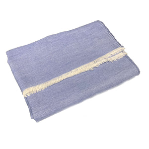 Blue Oriente Throw