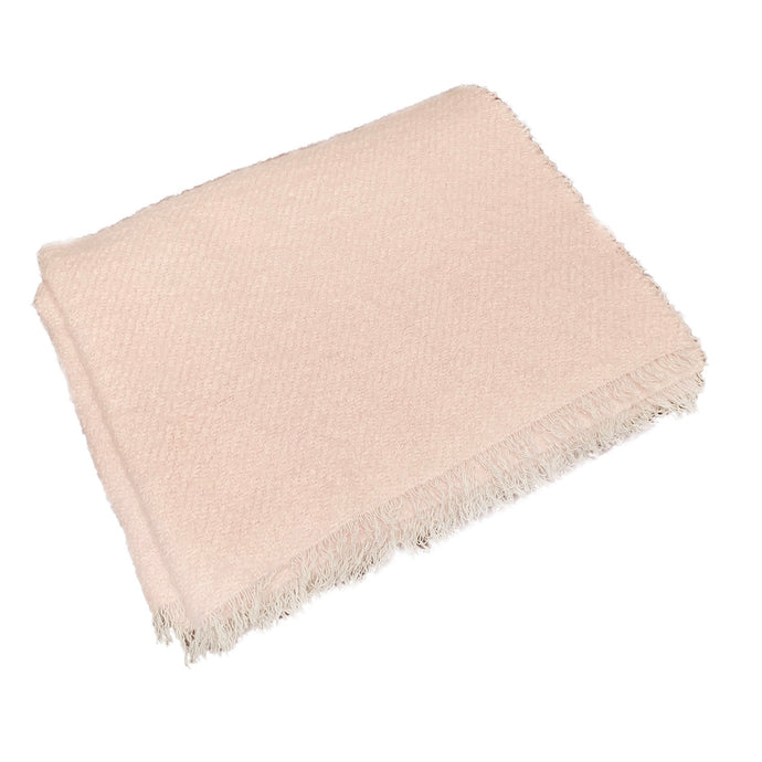 Pink Maracana Cashmere Throw