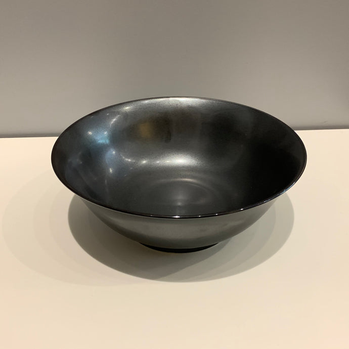 Medium Metallic Black Japanese Bowl