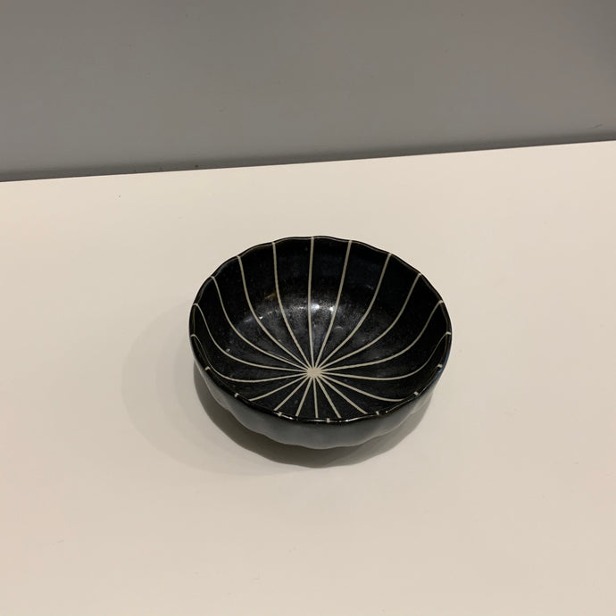 Small Lined Japanese Bowl