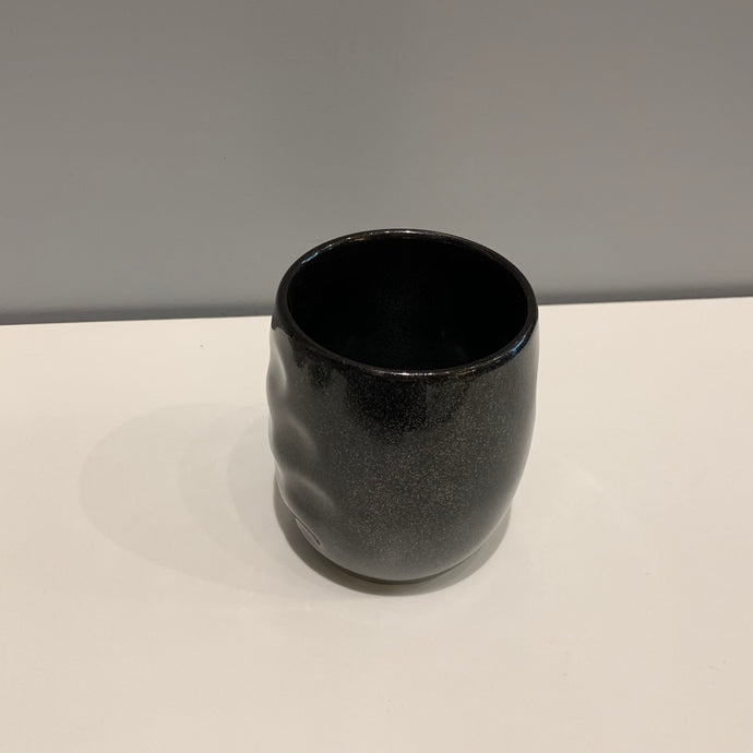 Metallic Black Japanese Tumbler