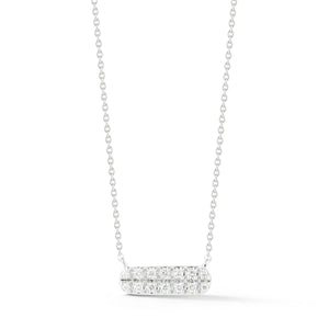 Sylvie Rose Double Row Bar Necklace