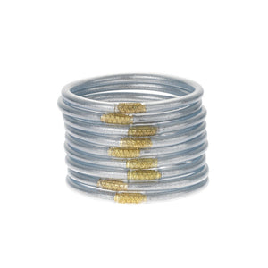 Silver All-weather Bangle