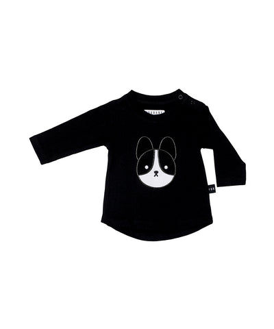 Franchie Applique Long Sleeve Top
