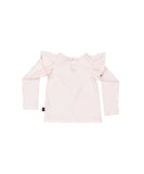 Girls BFF Long Sleeve Frill Top