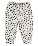 Oatmeal Heather Bear Dot Pant