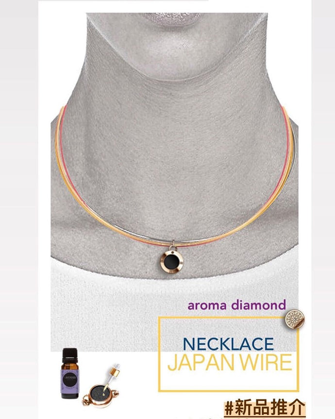 FLORIAN Aroma Wire Diamond Necklace🌺
