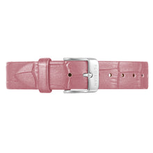 Classic Punchy Pink Leather Strap | 16mm