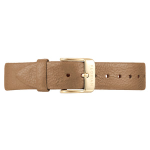 Classic Mirage Gold Leather Strap | 16mm