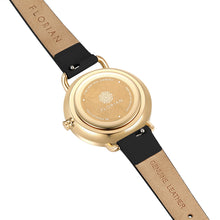 Pure Diamond Midnight Black and Champagne Gold Watch | 30mm