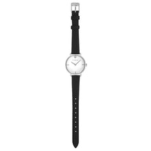 Pure Diamond Midnight Black and Silver Watch | 30mm