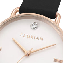 Pure Diamond Midnight Black and Rose Gold Watch | 36mm