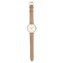 Pure Diamond Champagne Gold Mirage Gold Strap Watch | 36mm