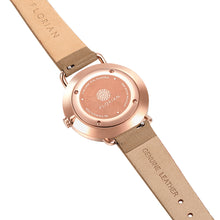 Pure Diamond Rosy Gold Mirage Gold Strap Watch | 36mm