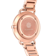 Ocean Diamond MOP Dial Rosy Gold Bracelet Watch | 36mm