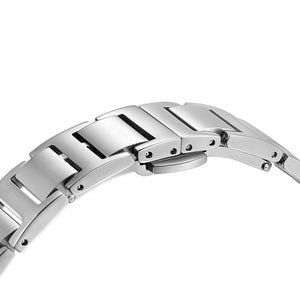 Classic Roman Turqouise Dial Silver Bracelet Watch | 36mm