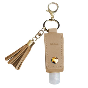 Creamy Beige Sanitizer Holder