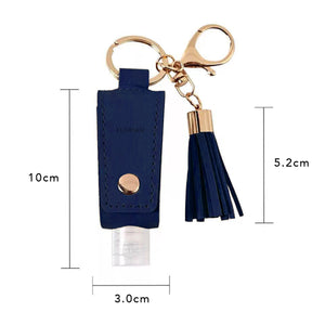 Navy Blue Sanitizer Holder
