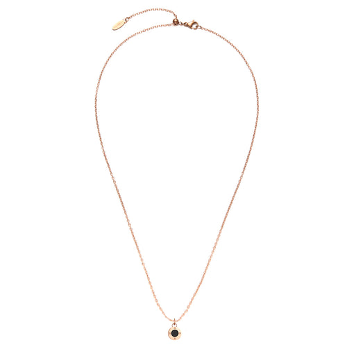 Fragrance Diamond Rosy Gold Aroma Necklace