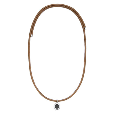 Magnetic Cocoa Brown Aroma Necklace