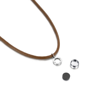 Aroma Magnetic Cocoa Brown Necklace