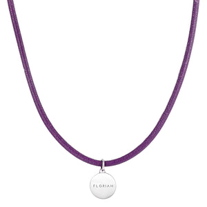 Magnetic Orchid Purple Aroma Necklace