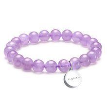 Aroma GEM Lavender Amenthyst Bracelet + Free France Organic Essential Oil (3 Set Only)