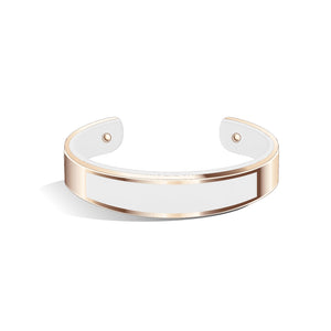 Pure White Tailor Rose Gold | 15mm