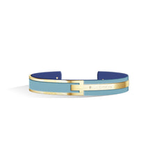 Diamond Angel Blue & Steel Blue Petite Metropolitan Light Gold | 10mm