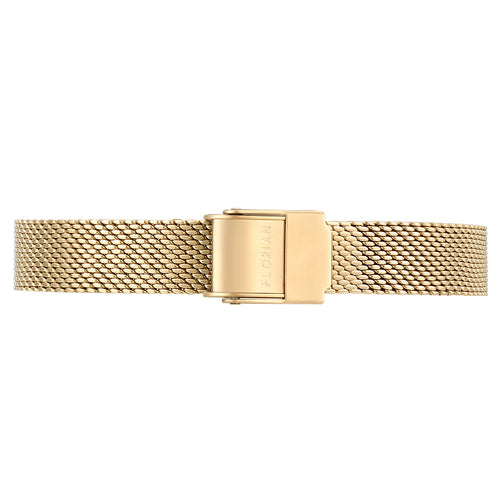 Petite Champagne Gold Mesh Band | 12mm