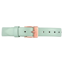 Petite Pistachio Green Leather Strap | 12mm